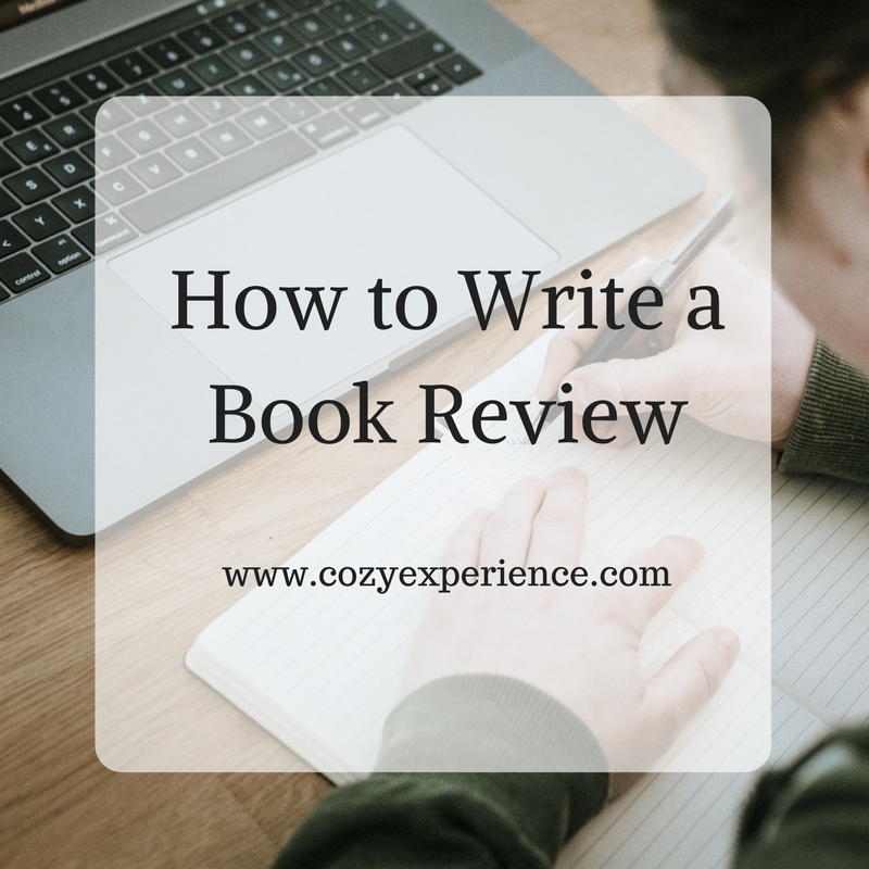 how to write a proper book review